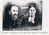 Solomon Langston & Harriett Compton