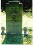David & Sally Langston Marker