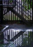 la barrière et son reflet