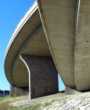 composition verticale d'une bretelle d'autoroute
