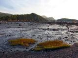 À marée basse vue intérieur du Bic