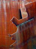 abstraction métallique