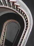 le puit de l'escalier