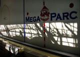 Le rollercoaster du méga parc