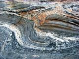 roche marbrée