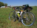 Our three bikes at the Hilly Hundred 2006