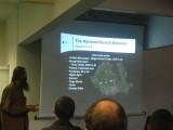 Valentin Grigore presenting his lecture