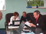 Galina Ryabova at the IMC laptop