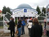 In front of the Heshdaren Observatory