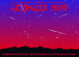 Leonids 1995 - logo - by Robert Haas
