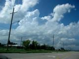 Aha: towering Cumulus...