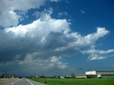 This is a highly interesting array of clouds...