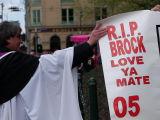 Memorial Service for Peter Brock