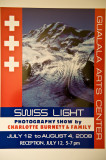 Swiss Light Photo Exhibit Sea Ranch