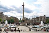 A postcard from Trafalgar Square