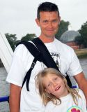 Patrick & Ruby on the Thames