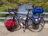117  Mark - Touring Wyoming - Cannondale T700 touring bike