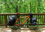 288    Rob - Touring Illinois - Trek 6500 touring bike