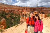 At the center of Bryce Amphitheater