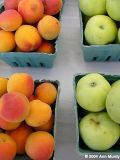 Apricots and apples