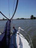 Dazzler heads downriver, 10:18 (184)