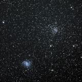 NGC 6946 with NGC 6939