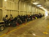 Motorcycles on the Alaska Ferry
