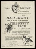 Advertisement for 'This Petty Pace'