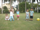 Rahil and his park pals