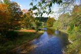 ... an October stream ...