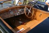 1939 Bugatti Roadster (interior)