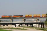 BNSF 4641 Kansas City MO 27 Sept 2008