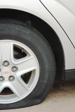 Tire Slashing Vandals