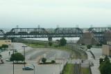 Iowa Interstate Railroad crossing the Goverrnment Bridge