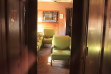 Inside C&NW Coach