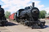 Debris Buildup on Soo Locomotive