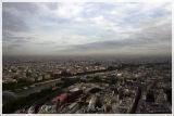 Northeast Paris from Eiffel Tower