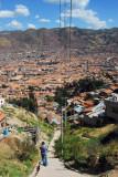 Stairs from near El Christo Blanco to San Blas