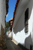 Narrow lane, San Blas