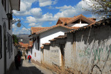 San Blas is a quaint area of town - a good place to stay if we didn't have the car