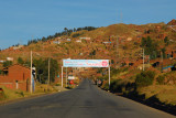 Entering Cusco after a long 6-day 1280 km drive from Lima
