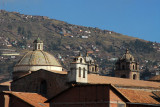 View of the Jesuit Church on Plaza de Armas from the Hotel San Agustin
