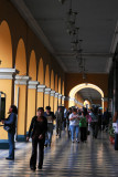 Arcade, Plaza de Armas, Lima