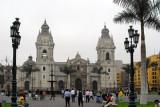 Lima Cathedral, Plaza de Armas