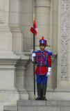Presidential guard, Palacio del Gobierno, Lima