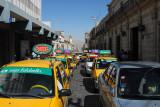 Traffic in Arequipa's old town - Alvarez Thomas Cdra 2