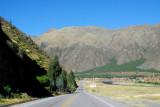 Peru route 3S between Urcos and Quiquijana