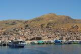 Puno seen from Lake Titcaca
