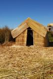 Reed hut, Uros Islands