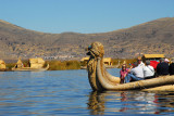 Reed boat, Lake Titicaca